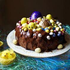 Green Gourmet Giraffe: Easter caramel and malteser fridge cake
