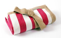Picnic Blanket - Pink Stripe $114
