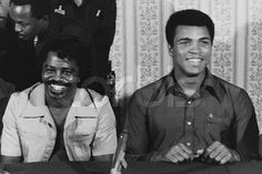 James Brown and Muhammad Ali