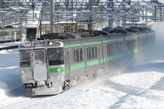 JR北海道 721系 苗穂駅