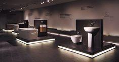 Bathroom Showroom Source by hollieazz Showroom Interior Design, Tile Showroom, Bathroom Interior Design, Furniture Showroom, Bathroom Decor Pictures, Modern Bathroom Decor, Modern Bathrooms, Bathroom Furniture, Bathroom Ideas