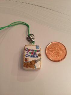 Clay Charm Box of Cerealcinnamon toast crunch by craftsbymorgan, $8.00