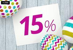 PROMOCJA WIELKANOCNA - 15% rabatu na wszystkie projekty z naszej oferty... Tylko do końca świąt
