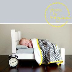 Cute idea for my baby bed