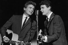 """""""Bye Bye Love"""" -- a song made popular by The Everly Brothers; it was written by husband and wife songwriters Boudleaux and Felice Bryant. The song was published in 1957 and became a huge hit. A version of """"Bye Bye Love"""" was also recorded by Ray Charles . . . ."""