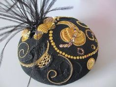 From Royal School if Needlework. Gold work. Metal thread embroidery.