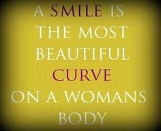 Smile always said this to my daughter.  That and the most important makeup on your face is your smile.