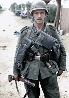 A German infantryman | by GLORY. The largest archive of german WWII images
