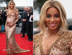 Ciara In Emilio Pucci – 2014 Grammy Awards