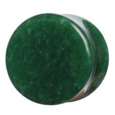 Jade stone organic plug plugs gauge gauges ukcustompulgs taper tattoo ukcp