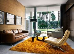 retro luxe living room | jason madara photography