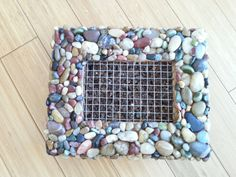 Rock Garden Terravert  Vertical Earth Garden PICTURE PLANTER living succulent wall DIY kit