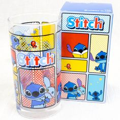 Disney Stitch World Glass JAPAN ANIME