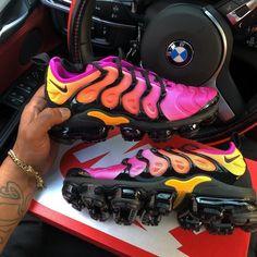 Shop Wmns Air VaporMax Plus 'Sherbet' - Nike on GOAT. Jordan Shoes Girls, Girls Shoes, Cute Sneakers, Shoes Sneakers, Sneaker Heels, Souliers Nike, Tn Nike, Nike Air Shoes, Hype Shoes