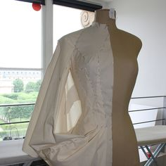 AOF MasterClass 4-week 2013 - Draping dress research with Magnhild Sundland from Norway