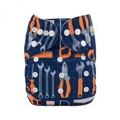 Turtle Pirate /& Beach Modern Cloth Reusable Washable Baby Nappy Diaper /& Insert