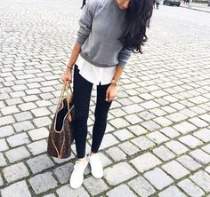 outfits chic escuela