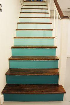 9 creatieve manieren om een saaie trap op te leuken - Roomed | roomed.nl