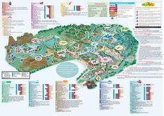 Hershey Park Official Map - 100 W Hersheypark Drive Hershey PA 17033 • mappery