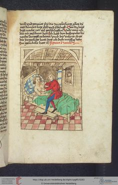 Cod. Pal. germ. 85: Antonius von Pforr: Buch der Beispiele (Schwaben, um 1480/1490), Fol 128r