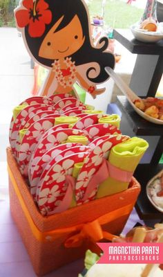 Hawaiian Luau Birthday Party Ideas | Photo 48 of 64 | Catch My Party