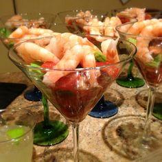 Santo Coyote shrimp cocktail recipe - YUM!