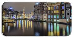 iPhone Cases - Amsterdam Colors iPhone Case by Nadia Sanowar