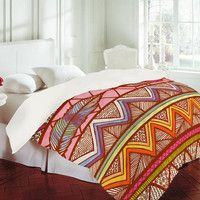 DENY Designs Home Accessories   Lisa Argyropoulos Two Feathers Duvet Cover