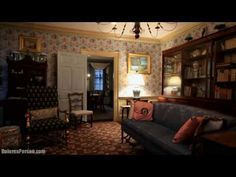 Old story book antique house inside look. Greenwood. Part two - YouTube