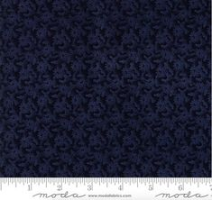 """36 Yards in Stock - Moda Fabrics - 108"""" Wide Fresh Cut Flowers Navy Quilt Back /  Backing Fabric by Kansas Troubles - 11140-14"""