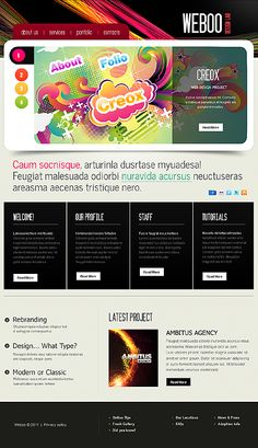 Weboo Design WordPress Themes by Delta
