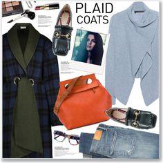 PLAID COATS Outfit Idea 2017