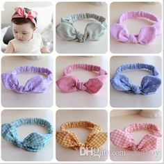 Discount Fashion Baby Girls Elastic Dot Floral Headbands Infant Toddler Cotton Cute Hair Bands Children Hair Accessories Kids Headwear Kha219 From China | Dhgate.Com