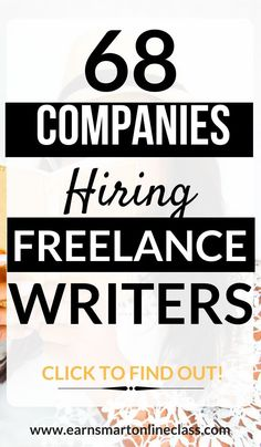 Are you looking for freelance writing jobs online to help you make money from home as a writer? You are at the right place. Here is a list of 68 writing companies looking for freelance writers to work from home on their own schedule. by dustyraysnana Read Online Writing Jobs, Freelance Writing Jobs, Online Jobs, Online Careers, Work From Home Jobs, Make Money From Home, How To Make Money, Make Money Writing, Writing Tips