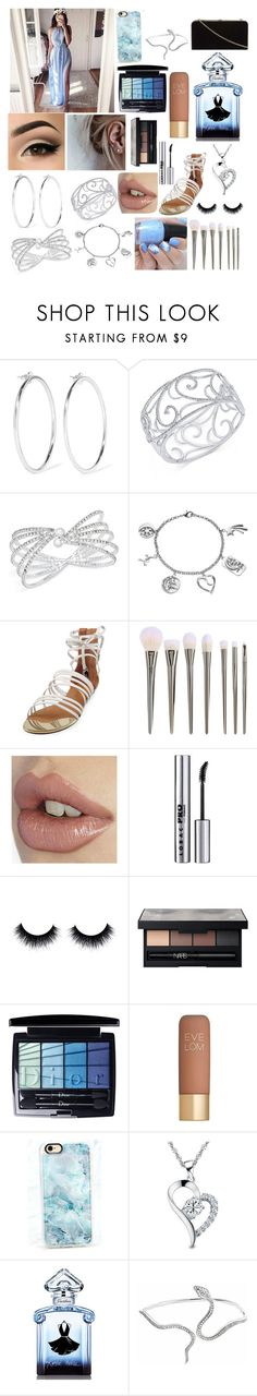 """For one"" by gmurielle ❤ liked on Polyvore featuring Jennifer Fisher, Eliot Danori, INC International Concepts, Love This Life, Carrano, LORAC, NARS Cosmetics, Christian Dior, Eve Lom and Casetify"