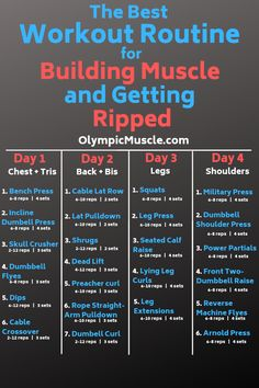 Gym Workout Plan for Weight Loss (Beginners) – … – fitness training 4 Day Workout, Workout Splits, Full Body Workout Routine, Workout Plan For Men, Gym Workout Tips, Weight Training Workouts, Fun Workouts, Gym Workouts For Men, Workout Program For Men