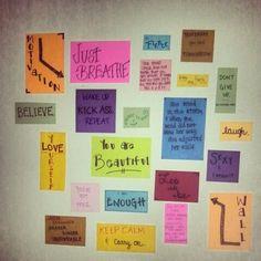 motivation wall