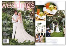 Our custom cocktail napkins were featured in Martha Stewart Weddings! Click here to start designing your own custom cocktail napkins http://www.foryourparty.com/products/editor/7611 $32 for 100
