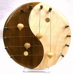 Swedish door harp  sc 1 st  Pinterest & Door Harp Luna (Kinderkram)- The Wooden Wagon- $73   Instruments of ...