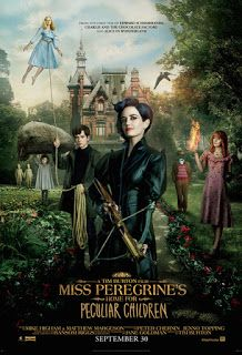 Miss Peregrine's Home for Peculiar Children Tim Burton, Miss Peregrine's Peculiar Children, Roman, Peregrine's Home For Peculiars, Miss Peregrines Home For Peculiar, Harry Potter, Young Adult Fiction, Poster On, Time Travel