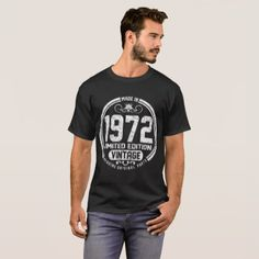made in 1972 limited edition vintage genuine origi T-Shirt - vintage gifts retro ideas cyo