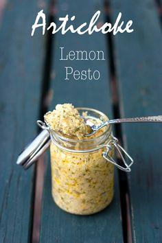 Artichoke Lemon Pesto.