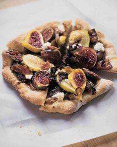 Fig Pizzas Recipe
