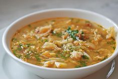 Mexican Cabbage Soup with Red Potatoes (great even without cabbage)