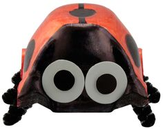Egg carton Ladybug...such memories-the many things we made