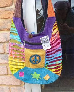 Peace Sign Hippie Purse Bag NEW
