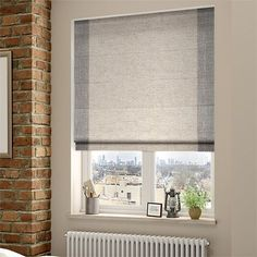 Avon Linen Weave Roman Blind from Blinds 2go