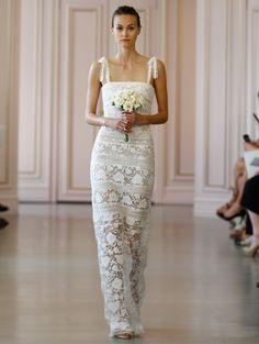 Ellie by Oscar de la Renta: Dresses for a Garden Wedding - The Bridal Dream