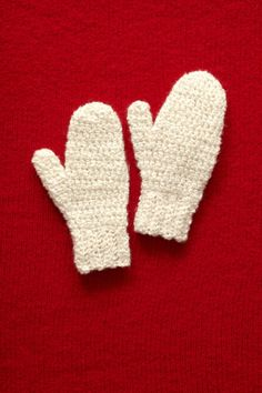 Crochet How to Mittens.