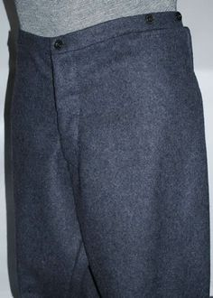 Richmond Depot Style Trousers - Broadcloth & Kersey